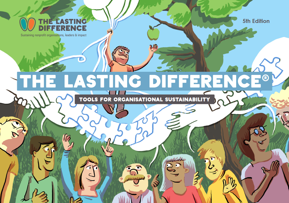 Cover page of the Lasting Difference toolkit