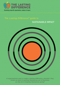 Front cover of Sustainable Impact Guide: a target or series of ripples.